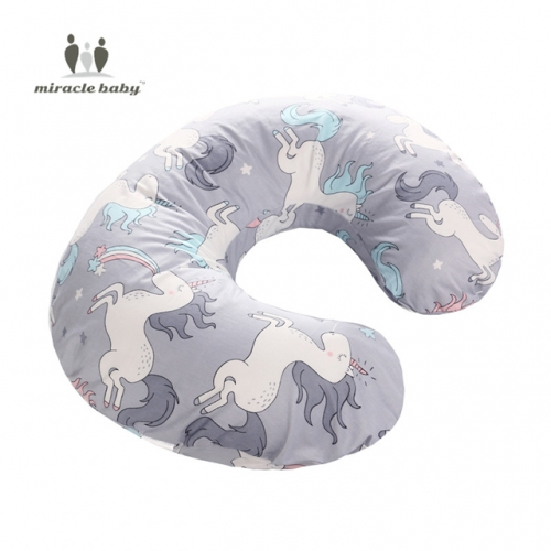 Breastfeeding Support Cushion, U-Shaped Nursing Pillow Soft for Baby Skin,Adjustable Maternity Pillow